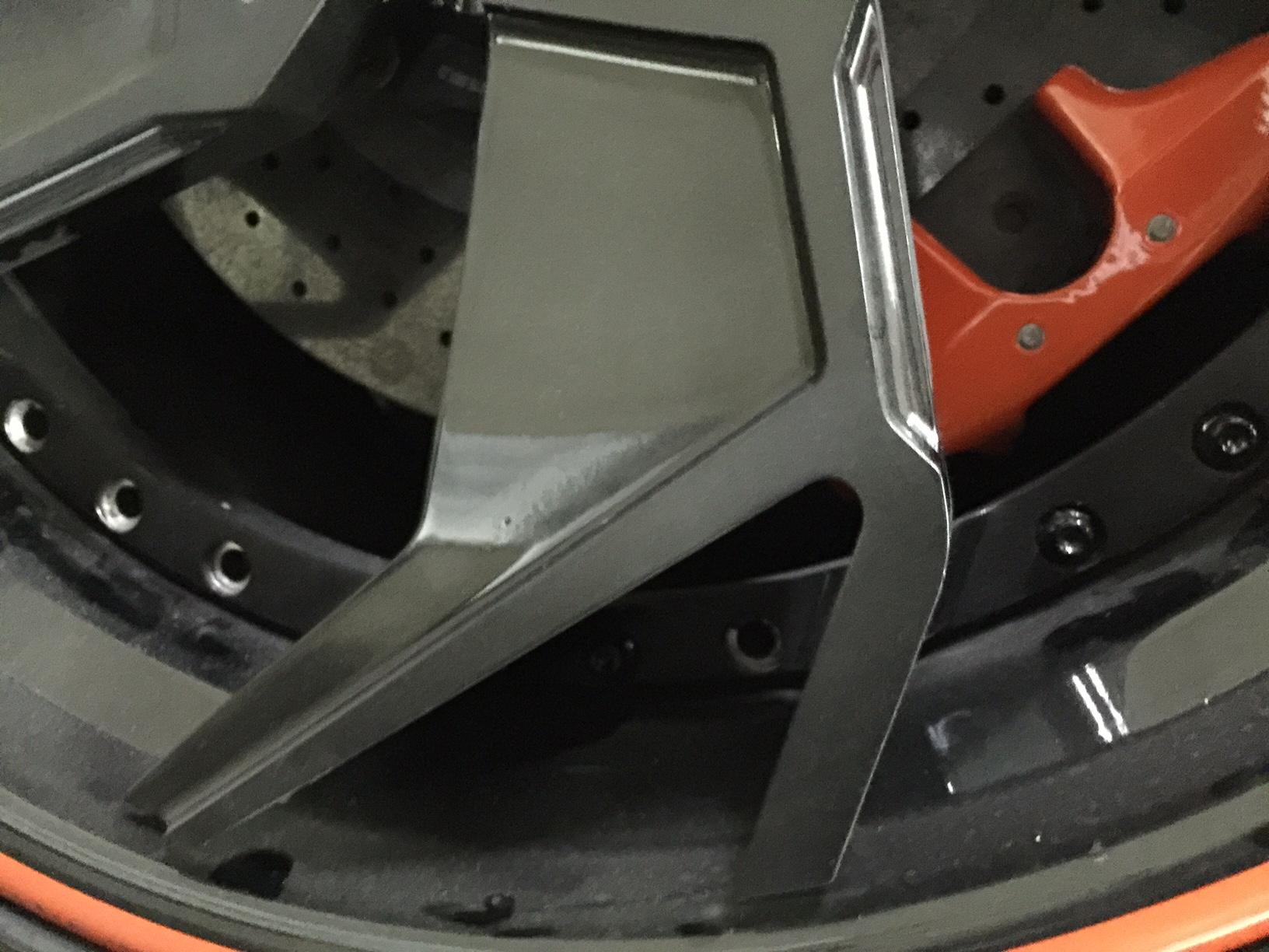 WARNING!  Never buy Kartier Forged Wheels! Lamborghini Kartier Wheels Fall Apart-1-2boltsmissing.jpg