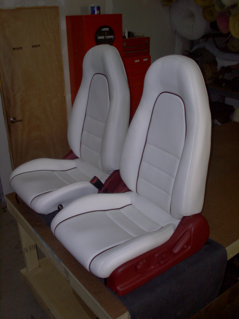 Custom Leather Interiors.