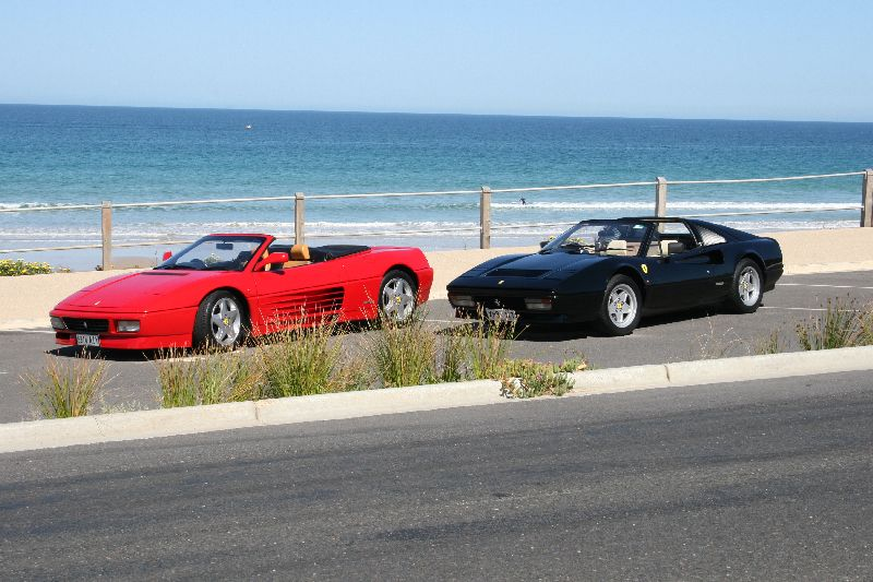 My 328GTS and 348Spider